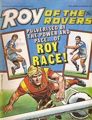Roy of the Rovers Comic 21st February 1987 ref89