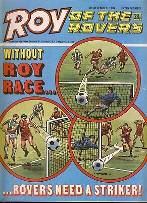 Roy of the Rovers Comic 5th December 1987 ref68