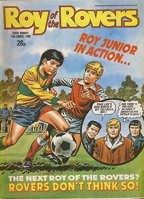 Roy of the Rovers comic 19th March 1988 ref029