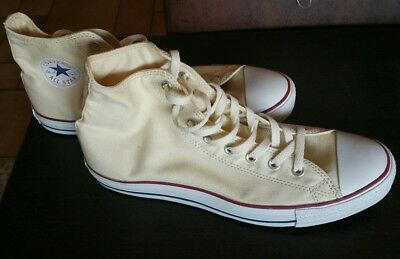 c714a5fa6463b0 Neu All Star Converse Chucks Hi Sneaker Schuhe Ox Can Cremeweiss M9162 Retro