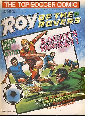Roy of the Rovers comic 28th March 1987 ref031
