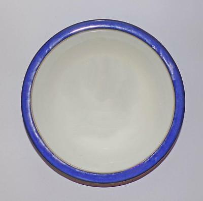 Denby Pottery Imperial Blue Pattern Pasta or Soup Bowl 21cm Dia in Stoneware