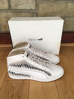 sports shoes 16edf d3ca3 Alexander McQueen Puma Trainers Entwine Twisted Leather UK7 EU40.5