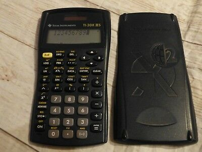 Texas Instruments TI-30X II S  Solar scientific calculator Taschenrechner