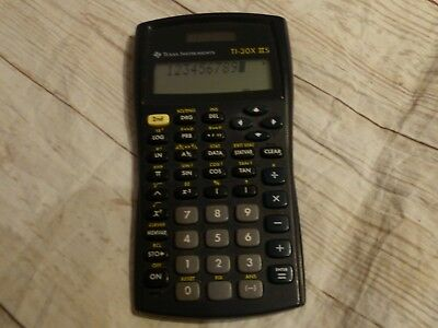 Texas Instruments TI-30X II S  Solar scientific calculator Taschenrechner _