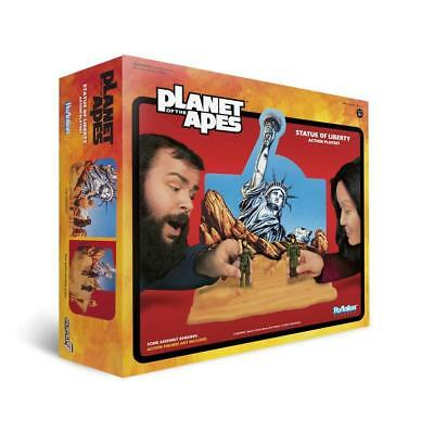 Planet Of The Apes ReAction Statue Of Liberty Playset / NEU + OVP / Sold Out!!!