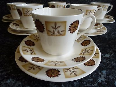 Royal Vale Bone China Trios, Milk Jug & Sugar Bowl. Wedding/Tea Party
