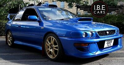 Subaru impreza STi Type R Fresh import V5 Limited Classic Sonic Blue 6 speed