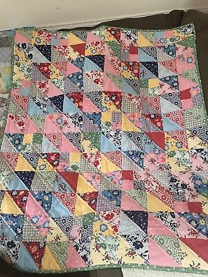Vintage Themed Baby Quilt