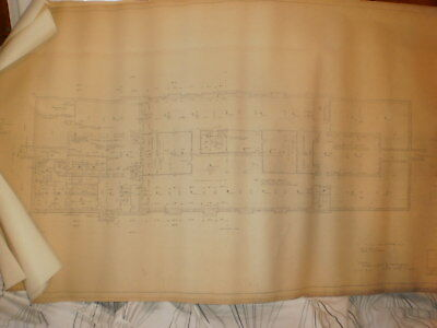 5 Architectural Drawings New Haven RR Station Cass Gilbert 1917