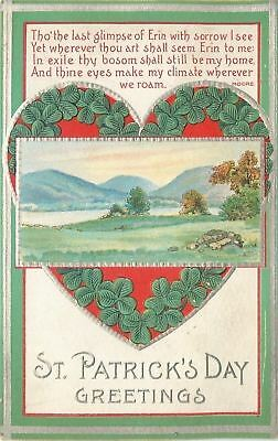 St Patricks Day~Heart Hold's Dear Erin~Home~Ireland's Countryside~Moore~Emboss