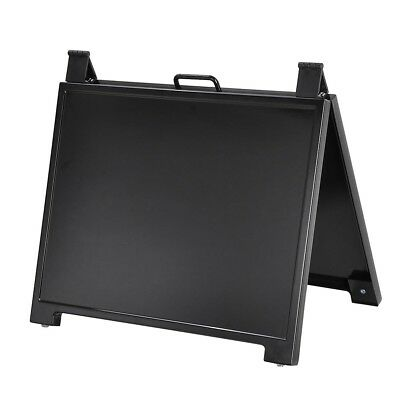 """Double Side Portable A Frame Fold Sign Stand Advertising Board 23""""x17"""" Shop Cafe"""