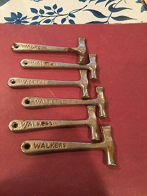 6  Vintage Walkers Toffee Candy Hammers Collectible/Advertising