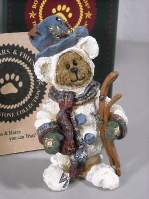 "2000 Christmas Boyds Bearstone Collection ""snowbearski"" 25729"