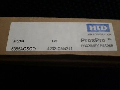 2 x HID ProxPro 5355AGS00 Proximity Reader with Keypad