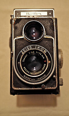 Ikoflex IIa User TLR camera with CLA- Zeiss Opton Tessar Red T- Film Tested!