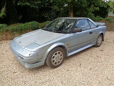 Amazing Toyota Mr2 Mk1** Barn Find** **1 Previous Owner** **low Millage**