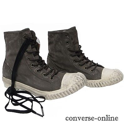 7a23d46782db CONVERSE All Star JOHN VARVATOS Painted Canvas BOSEY HI Trainers Boots SIZE  UK 9