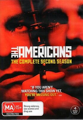 The Americans Season 2 4-DVD set