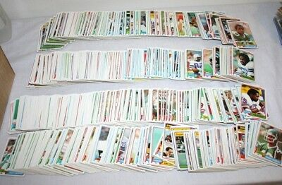 Lot Over 900 1981 Topps Vintage Football Cards Commons + Super Action HUGE