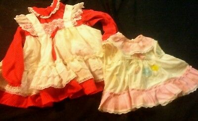 Lot Of 22 Vintage Baby Clothes READ ALL