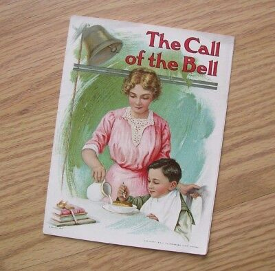 Shredded Wheat Vintage Advertising Trifold - The Call of the Bell, 1913