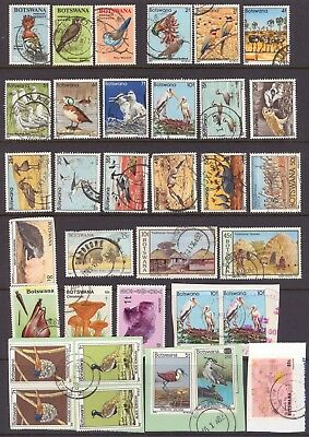 Botswana - Small Country Collection - Used Mixed Condition