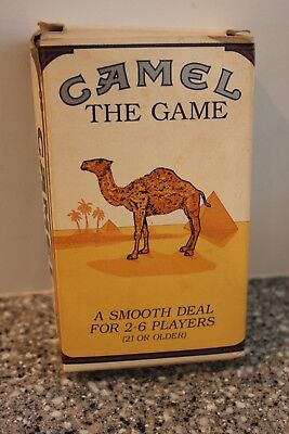 Vintage 1992 Camel Cigarette THE GAME A Smooth Deal for 2-6 Players Unopened