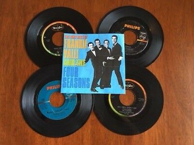 "1960's Four Seasons 7""/ 45 rpm Vinyl Collection and MORE!!!"