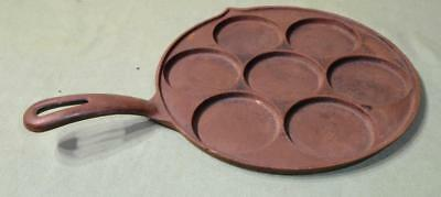 VINTAGE GRISWOLD CAST IRON No 34 PLETT PAN SMALL LOGO GRISWOLD FRYING PAN RARE