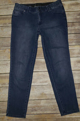 Womens LANE BRYANT Skinny Tighter Tummy Technology Mid Rise Jeans Sz.18 Average