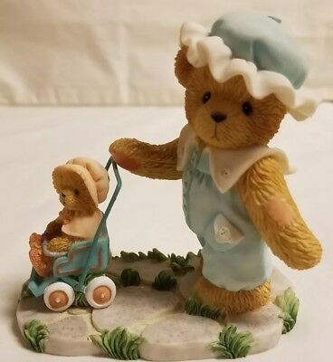 Cherished Teddies Bear Figurine Lucinda We'll Always Be, Just You And Me 788771