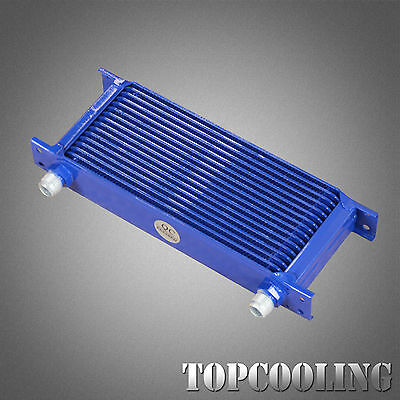 Universal 16 Row AN-10AN Mocal Style Engine Transmission Oil Cooler Aluminum