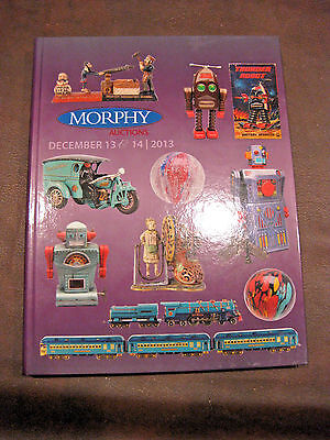 Us: Morphy Antique Toy Auction Hard Covered Book