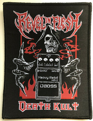 REVEL IN FLESH - Boss ( Kult Of Death ) - 10 cm x 13,3 cm - Patch - 165179