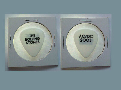 The Rolling Stones Ac/dc 2003 Tour Guitar Pick  Ac / Dc