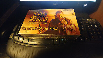Lord Of The Rings Return Of The King Sealed Booster Box Decipher Lotr Tcg Game