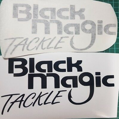 Black Magic Tackle fishing decals/stickers