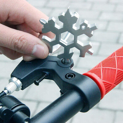 19-in-1 Multi-tool Wrenches Combination Compact Portable Outdoor Snowflake Tool