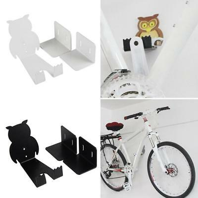 Bike Bicycle Cycling Pedal Tire Wall Mount Storage Hanger Stand Rackhot