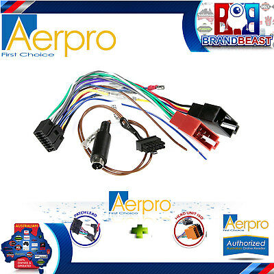 Kenwood KMM-BT304 Iso Connection Type C Patch Lead Conection Harnesses KMMBT304