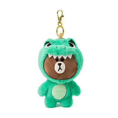 Line Friends Store Official Goods : Wanner Be Jungle Brown Bag Charm Collection