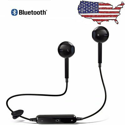 In ear Wireless Bluetooth Headset Sport Stereo Earphone Headphone for Cell Phone