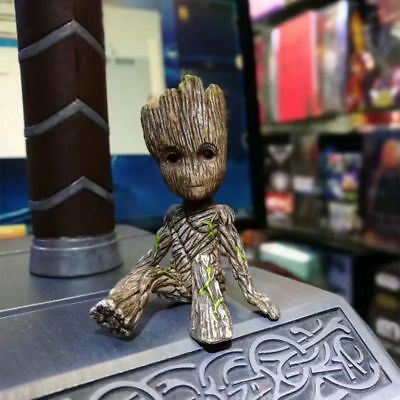 Guardians of the Galaxy Groot Sitting Baby PVC Action Figure Toy Kids Xmas Gift