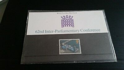 Gb Presention Pack No 74 1975 62Nd Inter-Parliamentary Conference