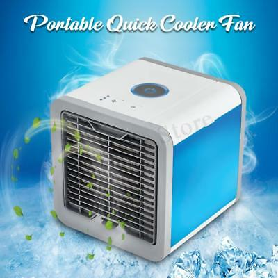 Air Cooler Evaporative Mini Desk Fan Portable Conditioner Cool Cooling Bedroom