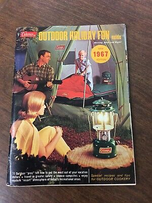1967 Coleman Outdoor Holiday Fun Guide 87 Pages