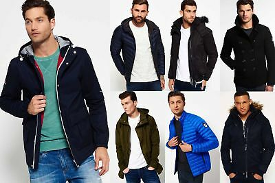 New Mens Superdry Jackets Selection - Various Styles & Colours 0811