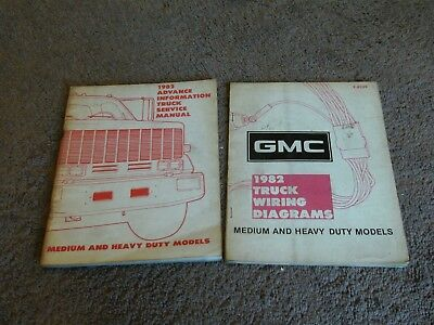 1984 Chevy GMC Medium And Heavy Duty Truck Wiring Diagrams 1650. 1982 Chevy GMC Medium Heavy Truck Advance Service Repair Manual Wiring Diagrams. GMC. GMC Heavy Truck Electrical Diagrams At Scoala.co