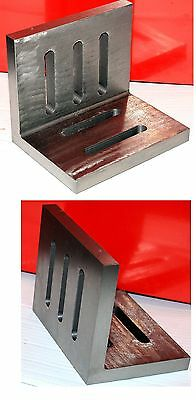 """SCT 6"""" Angle Plate Open End For Milling Machine Lathe etc From Chronos"""
